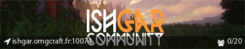 Serveur Minecraft Ishgar Community